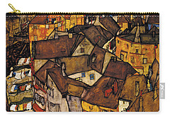 Krumau - Crescent Of Houses Carry-all Pouch