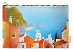 La Bellissima Isola De Capri Carry-all Pouch by Joe Gilronan