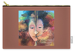 La Fille Foret Carry-all Pouch by Art Ina Pavelescu
