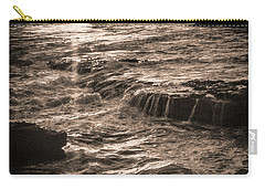 Carry-all Pouch featuring the photograph La Jolla Sunset by Samuel M Purvis III