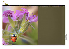 Ladybird Carry-all Pouch by Meir Ezrachi