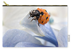 Ladybug Carry-all Pouch by Nailia Schwarz
