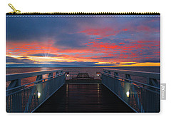 Lake Huron Sunrise Carry-all Pouch
