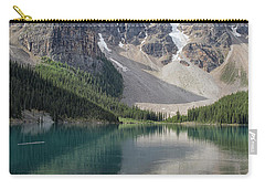 Carry-all Pouch featuring the photograph Lake Maligne by Patricia Hofmeester