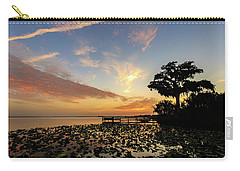 Lake Sunrise Carry-all Pouch