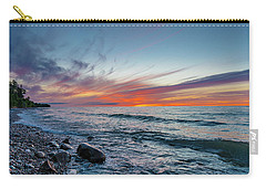 Lake Superior Sunset Carry-all Pouch