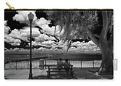 Carry-all Pouch featuring the photograph Lake View by Lewis Mann