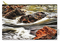 Carry-all Pouch featuring the photograph Lamina Flow by Blair Stuart