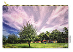 Carry-all Pouch featuring the photograph Landscape  by Charuhas Images