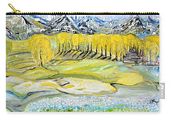 Landscape Carry-all Pouch by Evelina Popilian