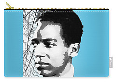 Langston Hughes Carry-all Pouch by Asok Mukhopadhyay