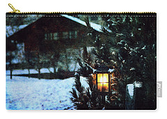 Lantern In The Woods Carry-all Pouch