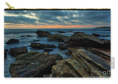 Last Light At Crystal Cove Carry-all Pouch