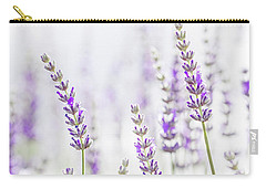 Lavender Flower In The Garden,park,backyard,meadow Blossom In Th Carry-all Pouch