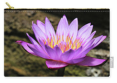 Lavender Water Lily #4 Carry-all Pouch