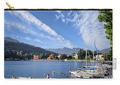 Lenno.lake Como Carry-all Pouch by Jennie Breeze