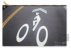 Life In The Bike Lane Carry-all Pouch