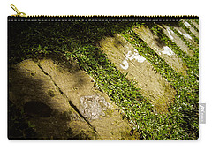 Carry-all Pouch featuring the photograph Light Footsteps In The Garden by T Brian Jones