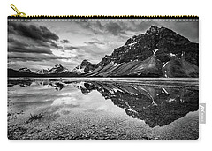 Carry-all Pouch featuring the photograph Light On The Peak by Jon Glaser