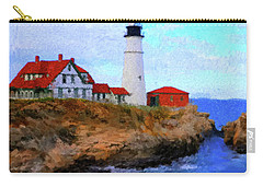 Lighthouse Carry-all Pouch by Gary Grayson