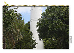 Carry-all Pouch featuring the photograph Lighthouse - Key West by Christiane Schulze Art And Photography