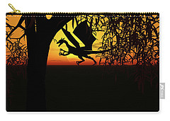 Lights And Shadow Carry-all Pouch by Michele Wilson