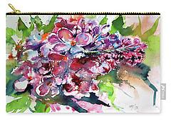 Lilac Carry-all Pouch by Kovacs Anna Brigitta