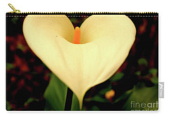 Lily Of The Valley Carry-all Pouch by Cassandra Buckley