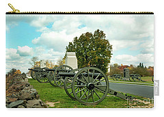 Carry-all Pouch featuring the photograph Line Of Fire by Paul W Faust - Impressions of Light