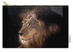 Lion King Of The Jungle Carry-all Pouch