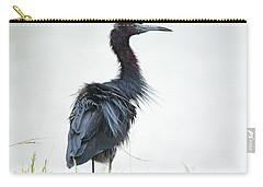 Little Blue Heron Portrait Carry-all Pouch