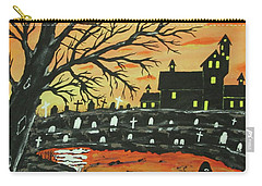 Loch Ness Monster This  Halloween Carry-all Pouch by Jeffrey Koss