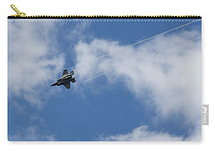 Carry-all Pouch featuring the photograph Lockheed Martin F-35b  by Shirley Mitchell