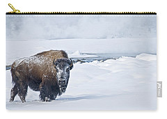 Lone Bison Carry-all Pouch