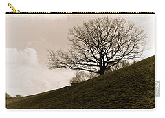 Lonely Tree Carry-all Pouch by Sergey Simanovsky