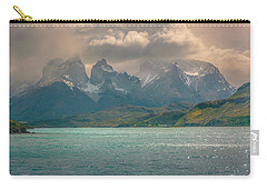 Los Cuernos  Carry-all Pouch by Andrew Matwijec