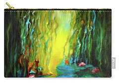Lotus And Lily Pads Carry-all Pouch