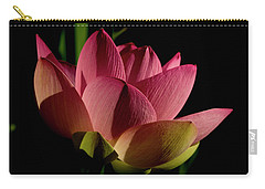 Carry-all Pouch featuring the photograph Lotus Flower 2 by Buddy Scott
