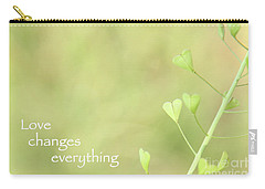 Love Changes Everything Carry-all Pouch