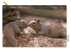 Carry-all Pouch featuring the photograph Love Is In The Air  by Saija Lehtonen