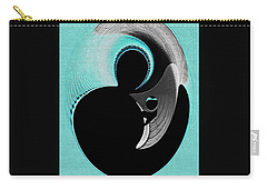 Carry-all Pouch featuring the digital art Love Is   by Paula Ayers