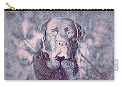 Love Of Dogs Carry-all Pouch by Allen Beilschmidt