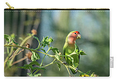 Lovely Little Lovebird  Carry-all Pouch