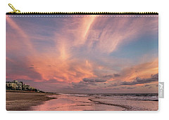 Carry-all Pouch featuring the photograph Low Tide Mirror by Debra and Dave Vanderlaan