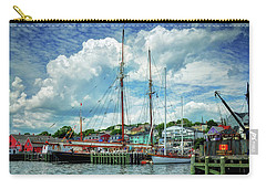 Carry-all Pouch featuring the photograph Lunenburg Harbor by Rodney Campbell