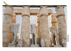 Carry-all Pouch featuring the photograph Luxor by Silvia Bruno