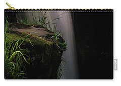Carry-all Pouch featuring the photograph Lynn Mill Waterfalls by Jeremy Lavender Photography
