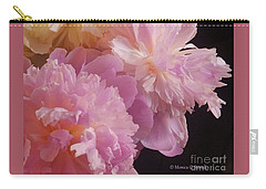 M Shades Of Pink Flowers Collection No. P66 Carry-all Pouch