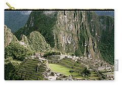 Machu Picchu At Sunrise Carry-all Pouch