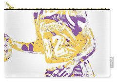 Magic Johnson Los Angeles Lakers Pixel Art 5 Carry-all Pouch